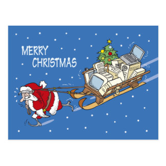 Santa Claus no. 08 Postcard