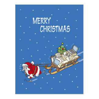Santa Claus no 08 Post Cards