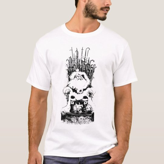 Santa Claus on a Throne T-Shirt