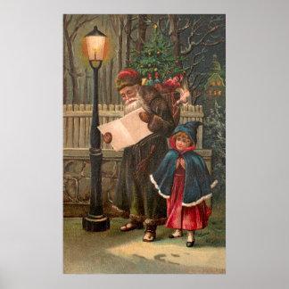 Santa Claus On His Way 3 Posters