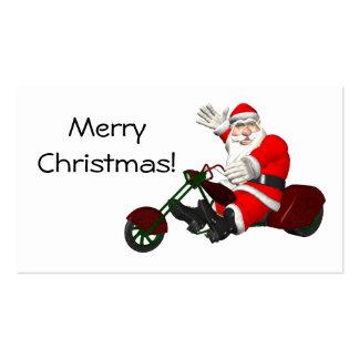 Santa Claus On Trike Business Card