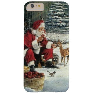 Santa claus painting - christmas art barely there iPhone 6 plus case