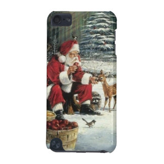 Santa claus painting - christmas art iPod touch 5G case