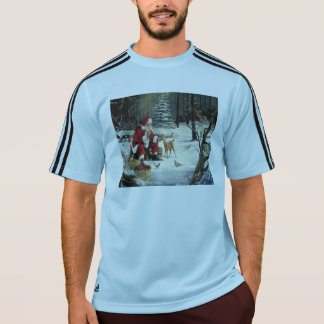 Santa claus painting - christmas art T-Shirt