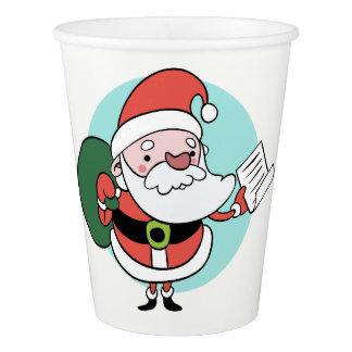 Santa Claus paper cups