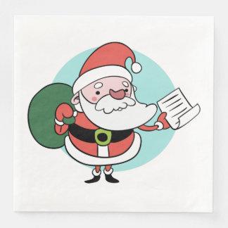 Santa Claus paper napkins