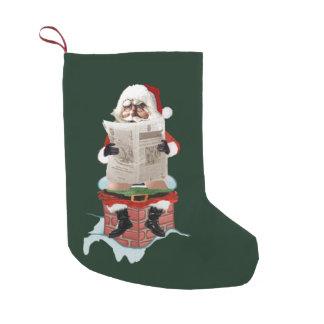 "Santa Claus ""Party Pooper"" Christmas Stocking"