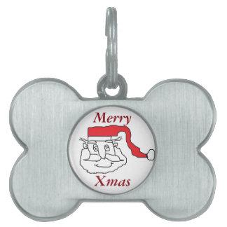 Santa Claus Pet ID Tags