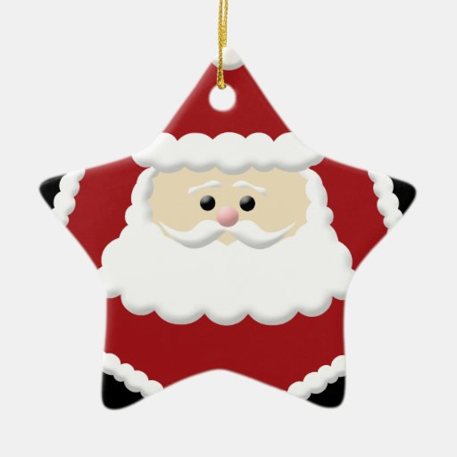 Santa Claus Photo Frame Ornament
