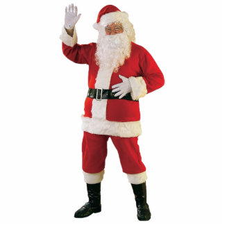 Santa Claus Photo Cutouts