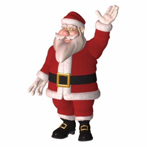 Santa Claus Photo Sculpture