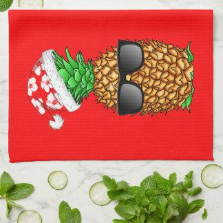 Santa Claus Pineapple Kitchen Towel