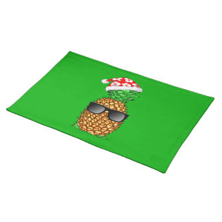 Santa Claus Pineapple Placemat