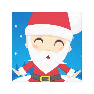 Santa Claus post Canvas Prints