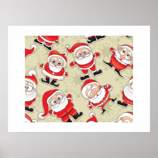 Santa Claus Print