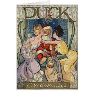 Santa Claus ~ Puck Magazine Cover ~ 12/03/1902 Card