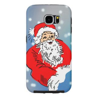 Santa claus samsung galaxy s6 cases