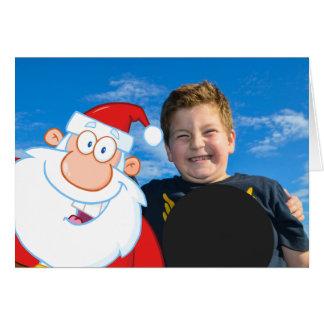 Santa Claus Selfie Photo Card