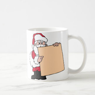 Santa Claus Sign Coffee Mug