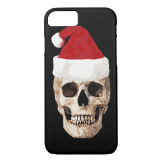 Santa Claus Skull - Christmas is Dead iPhone 8/7 Case