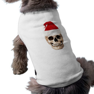 Santa Claus Skull - Christmas is Dead Shirt