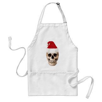 Santa Claus Skull - Christmas is Dead Standard Apron