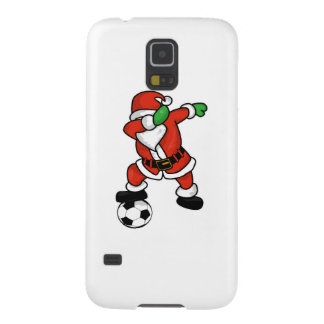 Santa Claus soccer dab dance ugly christmas T-shir Galaxy S5 Cover