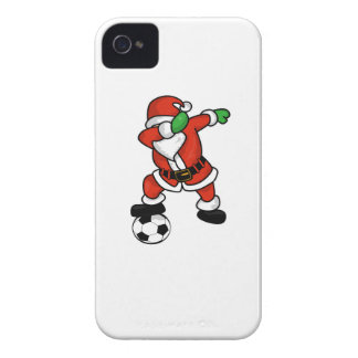 Santa Claus soccer dab dance ugly christmas T-shir iPhone 4 Covers