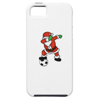 Santa Claus soccer dab dance ugly christmas T-shir iPhone 5 Cover