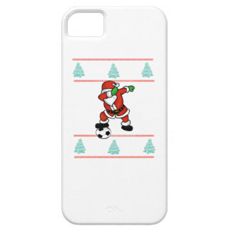 Santa Claus soccer dab ugly Christmas 2018 T-Shirt Case For The iPhone 5