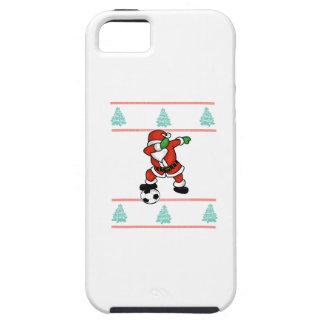 Santa Claus soccer dab ugly Christmas 2018 T-Shirt iPhone 5 Case
