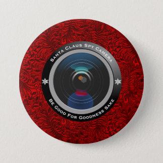 Santa Claus Spy Camera 3 Inch Round Button