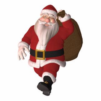 Santa Claus Standing Photo Sculpture