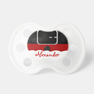 Santa Claus Suit Christmas With Baby Personalized Pacifier