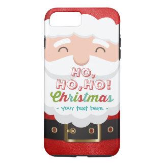 Santa Claus Suit Ho Ho Ho Christmas Happy New Year iPhone 8 Plus/7 Plus Case
