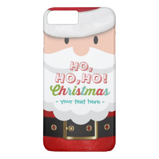 Santa Claus Suit Ho Ho Ho Christmas Happy New Year iPhone 8 Plus/7 Plus Case