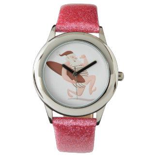 Santa claus surfing-santa claus cartoon-santa run watch