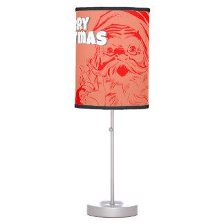 Santa claus table lamp