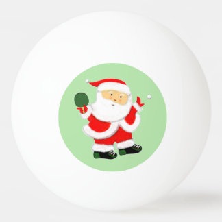 Santa Claus table tennis balls