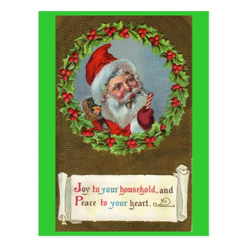 Santa Claus Traditional Postcard