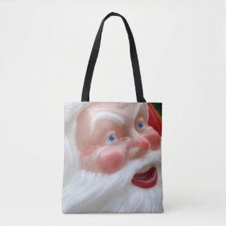 Santa Claus vintage head Tote Bag
