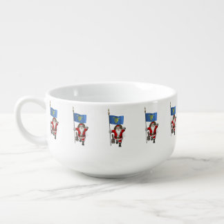 Santa Claus Visiting The Beaver State Soup Mug