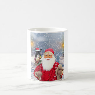 Santa Claus w Christmas Gifts French Bulldog Coffee Mug