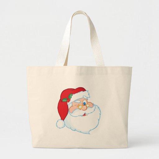 Santa Claus Winking Bags