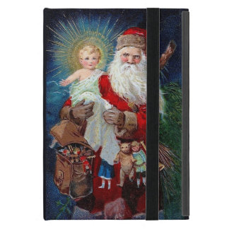 Santa Claus with Christ Child iPad Mini Case