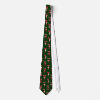 Santa Claus With Ensign Of Ontario Tie