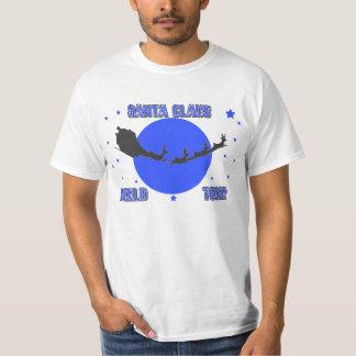 Santa Claus World Tour Light Design Shirt