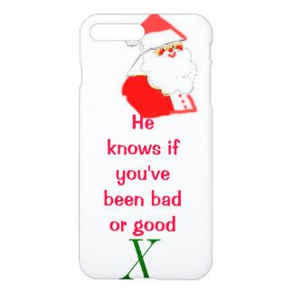 Santa Clause Bad or Good iPhone 7 Plus Case