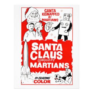 Santa Clause Christmas Joy Custom Letterhead