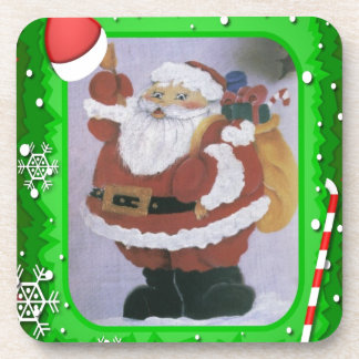 santa clause coasters